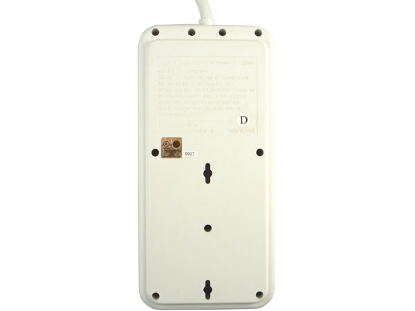 how to tell if electrical outlet is surge protector