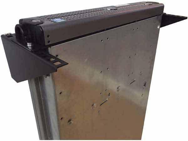 4u 19 Inch Steel Wall Mountable Simple Vertical Rack And