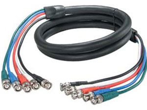 12 ft. High Performance 5 BNC Component Cable