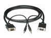 Premium SVGA Monitor Cables w/ Audio