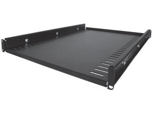 19 Quot 1u Rack Mount Adjustable Fixed Heavy Duty Equipment Shelf