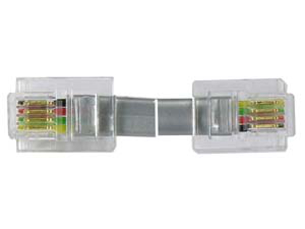 7 Ft  Rj11 Straight Modular Telephone Cable