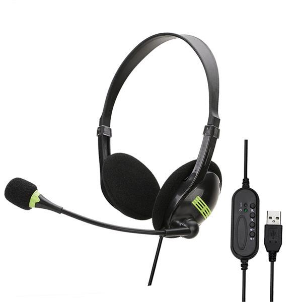 Usb Headphones W Microphone
